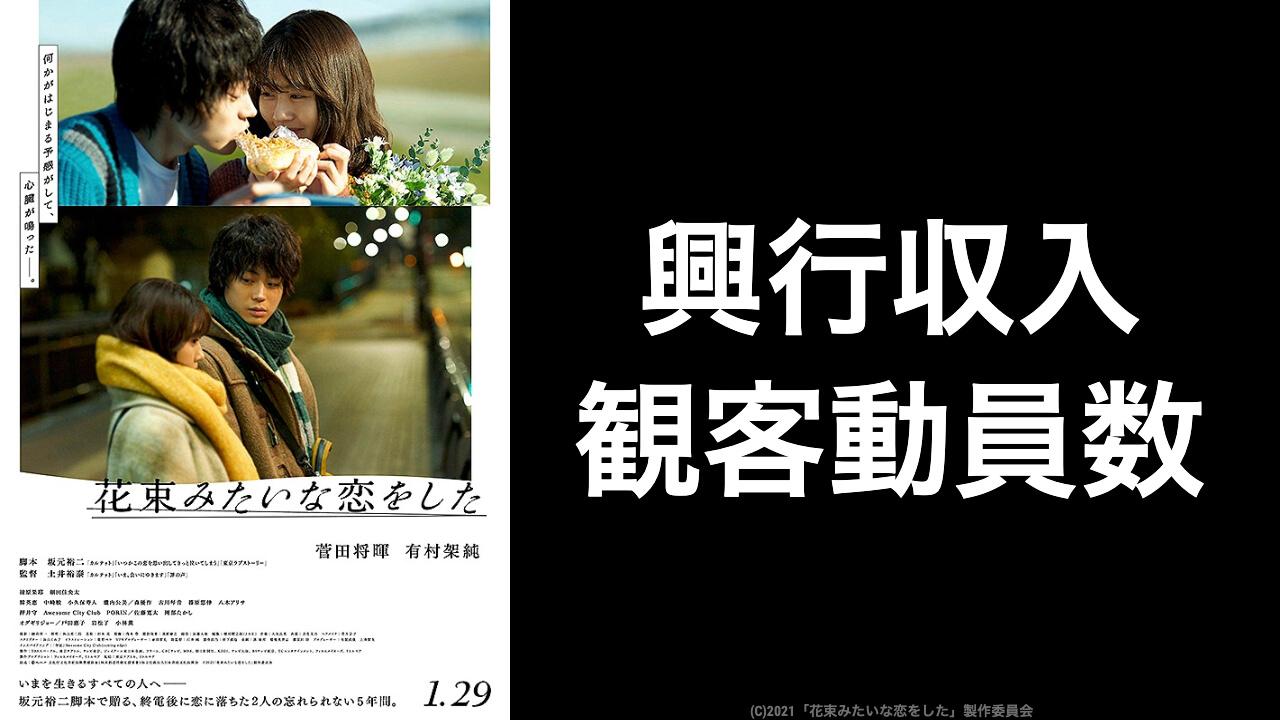 映画『花束みたいな恋をした』現在の興行収入推移と最終興収を元映画館 ...